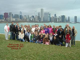 Chicago Bus Trip gang
