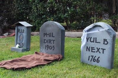 Cardboard Tombstones