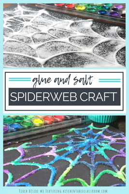 Salt and Glue Spider Webs