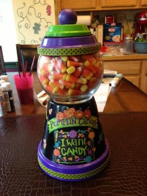 Terracotta Candy Jars