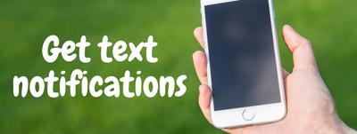 get text notifications