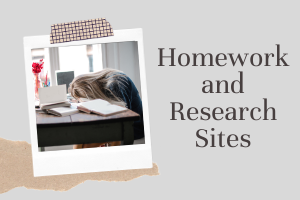 Homework and Research Sites