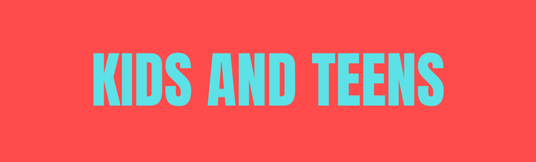 Kids and Teens Banner