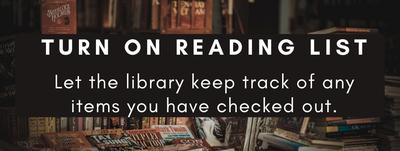 turn on reading list